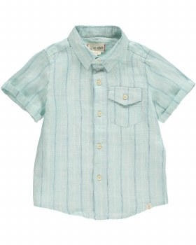 Striped Woven Shirt 4-5y