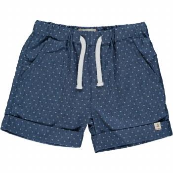 Arrow Chambray Shorts 2-3y