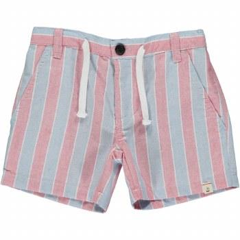 Blue/Red Stripe Shorts 2-3y