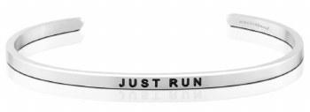 MantraBand Silver Just Run