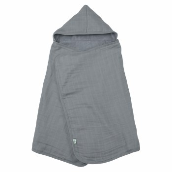 Hooded Towel Gray