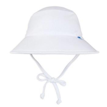 Breatheasy Bucket Hat White 2-4T
