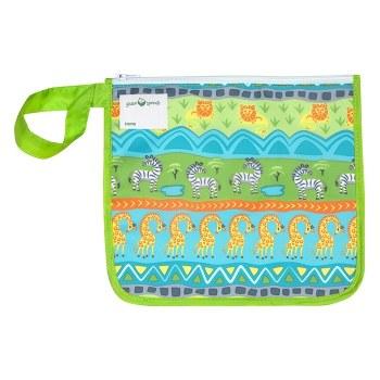 Insulated Snack Bag Green Safari