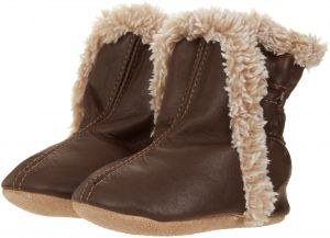 Classic Bootie Brown 12-18m