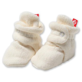 Cozie Fleece Bootie Cream 6m