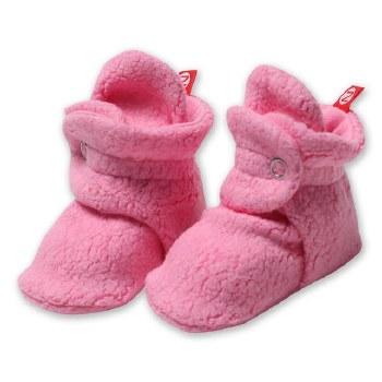 Cozie Fleece Bootie Hot Pink 3
