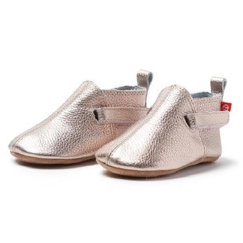 Leather Bootie Rose Gold 6m