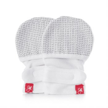 Mitts Preemie Drops Grey