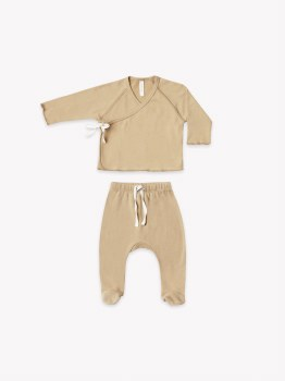 Kimono + Pant Set Honey 0-3m