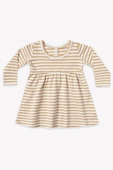Baby Dress Honey Stripe 3-6m