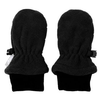 Fleece Mittens Black Medium