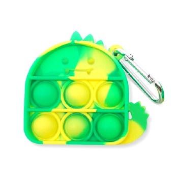 OMG Pop Fidgety Keychain Dinosar