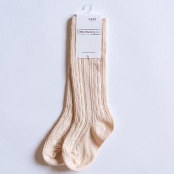 Knee High Vanilla 18m-3Y