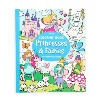 Color-in' Book Princesses and Faries