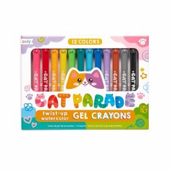 Cat Parade Watercolor Gel Crayons