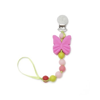 Pacifier Clip Butterfly