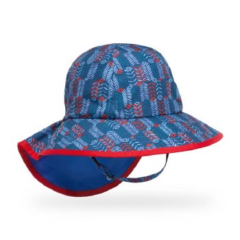 Kids' Play Hat Large Blue Arrow