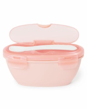 Easy Feed Travel Bowl and Spoon Pink