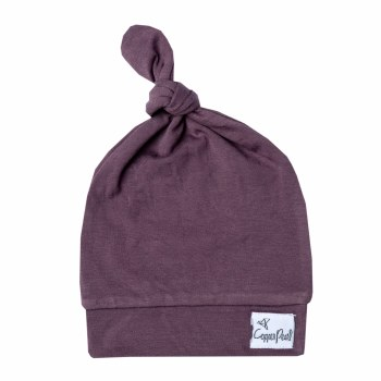 Knot Hat Plum