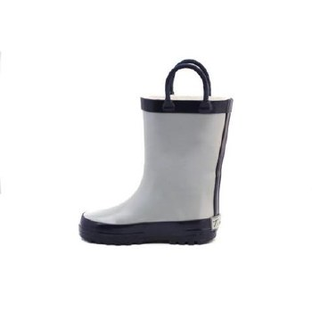Rain Boots Grey/Navy 5T