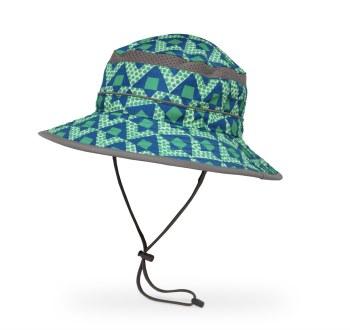 Kids' Bucket Hat Medium Blue Dotamids