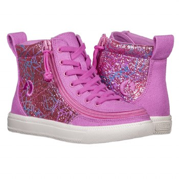 High Top Pink/White 4Y