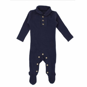 Polo Overall Navy 3-6m