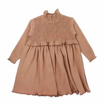 Smocked Dress Nutmeg 2T