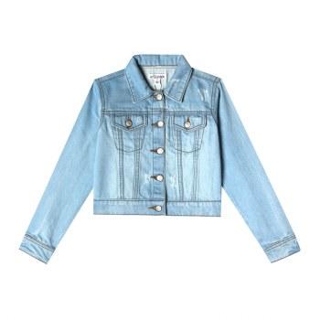 Mini Nalia Jacket Blue Wash 24m