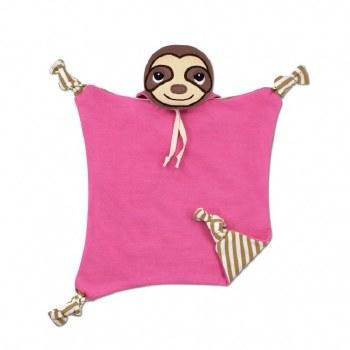Blankie Pink Sloth
