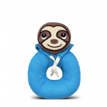 Teething Rattle Bue Sloth