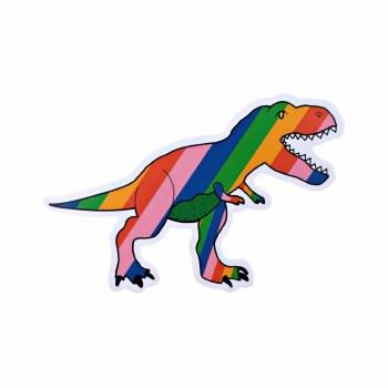 Rainbow T-Rex Vinyl