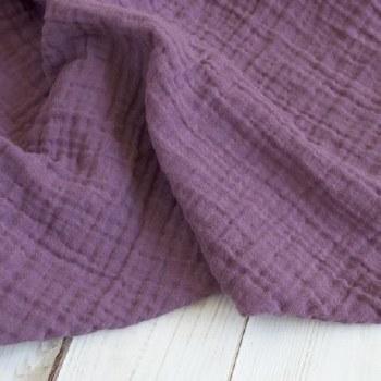 Muslin Blanket Dusty Violet