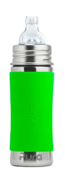 11oz Sippy Bottle Green