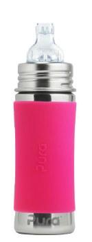 11oz Sippy Bottle Pink