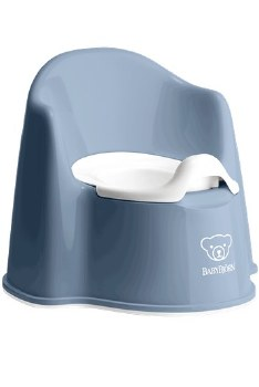 Baby Bjorn Potty Chair Deep Blue - CURBSIDE ONLY