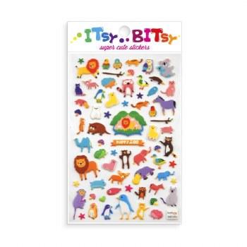 Itsy Bitsy Stickers Happy Zoo