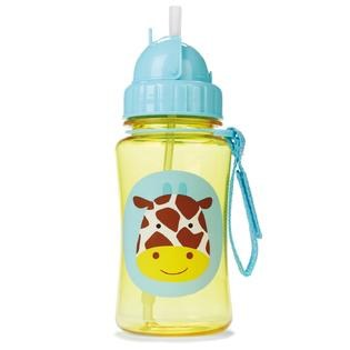 Straw Bottle Giraffe