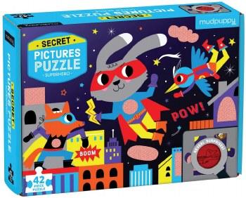 Super Hero 42 Pc Secret Puzzl