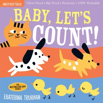 Indestructibles Baby Let's Count