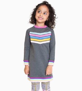 Janine Dress Charcoal 4