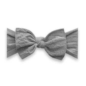 Shimmer Knot Headband Silver