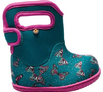 Baby Bogs Butterfly Teal 6T