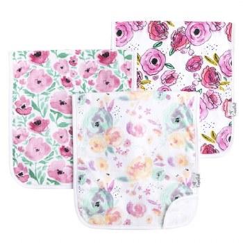 Burp Cloths Bloom