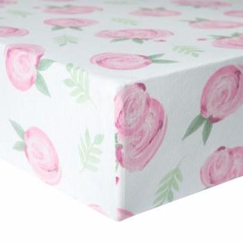 Premium Crib Sheet Grace