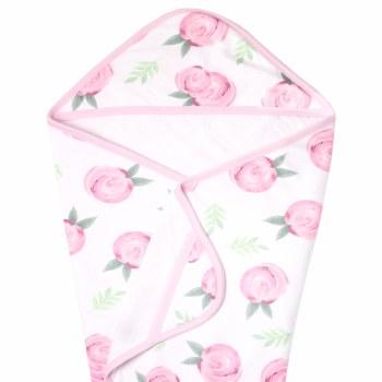 Knit Hooded Towel Grace