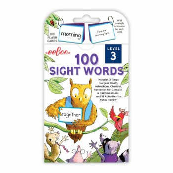 Flash Cards Sight Words 3