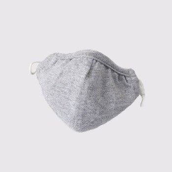 Adult Face Mask Cotton Grey