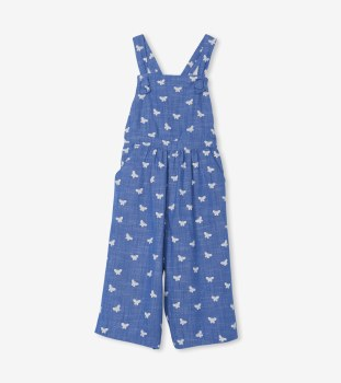 Butterfly Chambray Romper 4