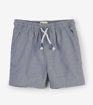 Chambray Baby Shorts 12-18m